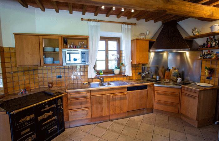 Olive Tree Suites - kitchen main apartment