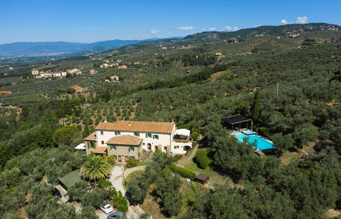 Olive Tree Suites - aerial view