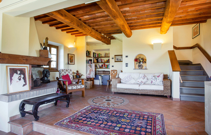 Olive Tree Suites - Living room main apartment